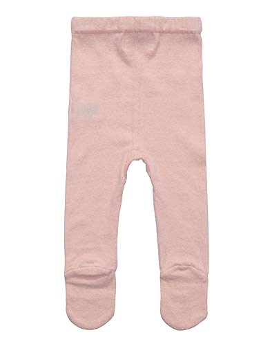 b45a427bf32a3 Tights – Baby Girl knit Leggings Footed Pants with 100% organic cotton  (6-12 Months, Pink) Offers